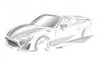 Toyota представит в Женеве концепт-кабриолет на базе GT 86