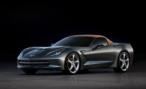 Chevrolet представил первые фото кабриолета Corvette Stingray