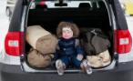 В Петербурге бомж угнал иномарку с 2-летним ребенком в салоне