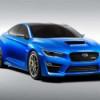 Subaru представляет на автосалоне в Нью-Йорке концептуальный WRX