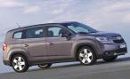 Chevrolet Orlando получил тринадцать новых опций