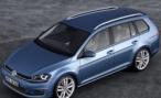 Volkswagen опубликовал первые фотографии универсала Golf Variant