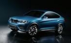 В Интернет просочились фотографии концепта BMW X4