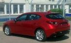 В Интернете появилась фотография Mazda3 нового поколения