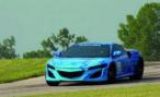Прототип Honda NSX впервые появится перед публикой на треке в США