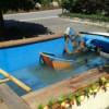 Главная «фишка» лета: бассейн в салоне автомобиля
