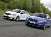 Skoda Auto Россия принимает заказы на Octavia RS и Octavia Combi RS