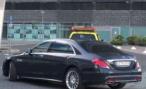 По Роттердаму Mercedes-Benz S65 AMG возили