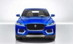 Jaguar опубликовал первое фото кроссовера C-X17 Concept