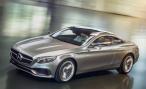 Отличия в дизайне серийного купе Mercedes-Benz S-class от прототипа будут незначительными