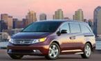 Honda инициировала отзыв 380 тысяч минивэнов Odyssey из-за проблем с тормозами