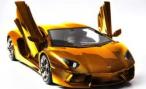 В Эмиратах выставлен на продажу Lamborghini Aventador с отделкой из золота и бриллиантов