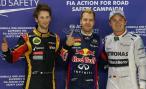 «Формула-1». Гран-при Сингапура 2013. Квалификация. Победа в боксах