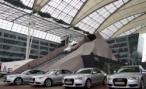 Audi построила в Москве «quattro-горку»