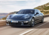 Porsche представляет обновленную Panamera Turbo S