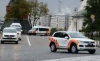 Кортеж эстафеты олимпийского огня представили в Кремле