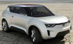 SsangYong привезет в Россию новый компактный кроссовер X100
