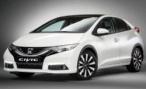 Honda представляет рестайлинговый хетчбэк Civic