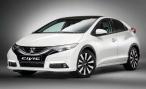 Honda представляет рестайлинговый хэтчбек Civic