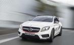 Mercedes представил GLA 45 AMG concept в Лос-Анджелесе