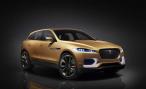 Jaguar представил пятиместную версию кроссовера C-X17 на автосалоне в Гуанчжоу