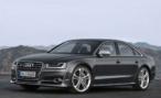 Дилеры Audi приступили к продаже обновленной Audi S8 за 5,45 млн рублей
