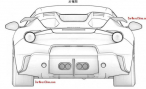 Ferrari запатентовала в Китае дизайн новой версии F12 berlinetta