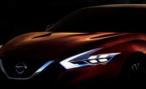 Nissan опубликовал тизер Sport Sedan Сoncept перед премьерой в Детройте