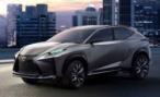 Серийную версию кроссовера Lexus LF-NX покажут в Женеве