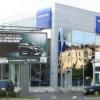 В Петербурге горит автосалон Volvo