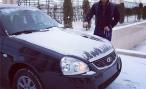 Рамзану Кадырову подарили Lada Priora. Глава Чечни доволен