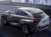 Lexus представит кроссовер NX на автосалоне в Пекине