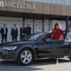 Audi предоставила автомобили игрокам и тренерам футбольного клуба «Барселона»