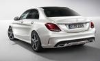 В Интернете появились фотографии нового Mercedes-Benz C-class с пакетом AMG Line