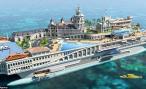 Британцы готовы построить яхту за 244 миллионов фунтов с домами, дорогами и трассой «Формулы-1»