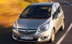 Обновленную Opel Meriva показали на автосалоне в Брюсселе