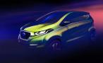Datsun опубликовал изображение нового концепта перед премьерой в Дели