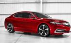 Acura представит серийный седан TLX  на автосалоне в Нью-Йорке