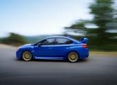 Subaru поделилась официальными фотографиями WRX STI
