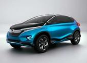 Honda представляет концепт Vision XS-1 на выставке Auto Expo в Индии