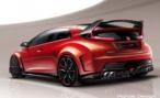 Honda привезет в Женеву заряженный хетчбэк Civic Type R Concept