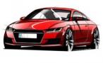 Audi изобразила TT нового поколения; премьера в Женеве