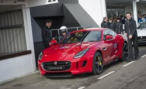 На тест-драйв Jaguar F-Type Coupe в английский Гудвуд пригласили принца Гарри