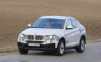 Папарацци сфотографировали BMW X4 во время дорожных тестов