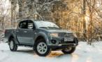 Продажи обновленного пикапа Mitsubishi L200 стартовали в России