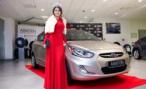 Победительница конкурса «Мисс Россия 2014» уедет домой на Hyundai Solaris