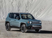 В Интернете появилось первое фото базовой модели Jeep Renegade