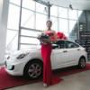 ДЦ «Авилон» передал «Мисс Россия 2014» ключи от Hyundai Solaris