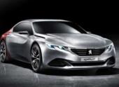 Peugeot представит в Пекине четырехдверное концепт-купе Exalt