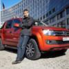 Биатлонист Шипулин протестировал спецверсию Volkswagen Amarok Canyon